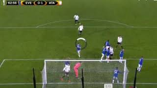 Video Gol Pertandingan Everton vs Atalanta