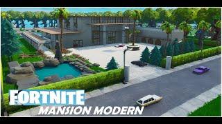 Mansion Modern - Fortnite Creative (Timelapse)
