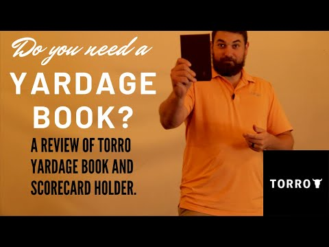 Do You Need A Yardage Book, And Why You Should Get This One!!!