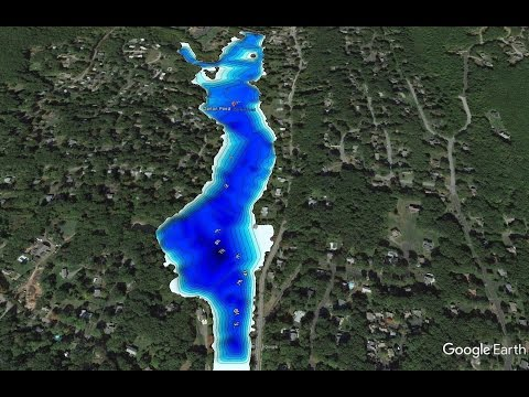 Weekly bass fishing sonar #2 making a contor map for general and ice fishing