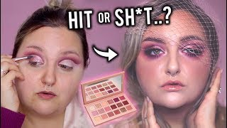 WORTH YOUR $$..? TESTING THE HUDA BEAUTY NUDE PALETTE