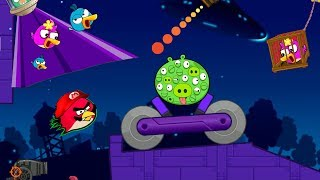 Angry Birds Collection Hacked 4 - RESCUE ALL BIRDS AFTER SHOOTING T...