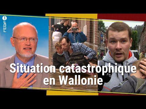 Download Inondations en Belgique : évacuations en urgence dans une Wallonie sinistrée - RTBF Info