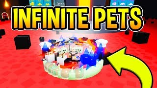 OWNER GAVE ME INFINITE HACKED PETS IN UNBOXING SIMULATOR - Roblox
