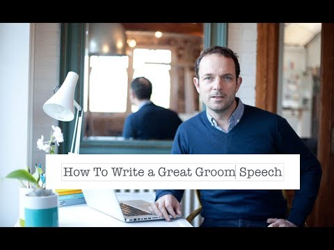 Groom Speech Ideas Examples & Structure, Delivery & Humour