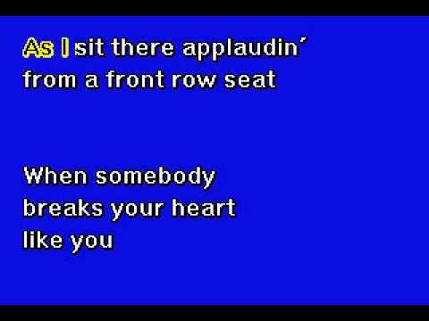 Tony Bennett  -  I Wanna Be Around -  Karaoke