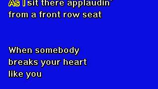 Tony Bennett  -  I Wanna Be Around -  Karaoke