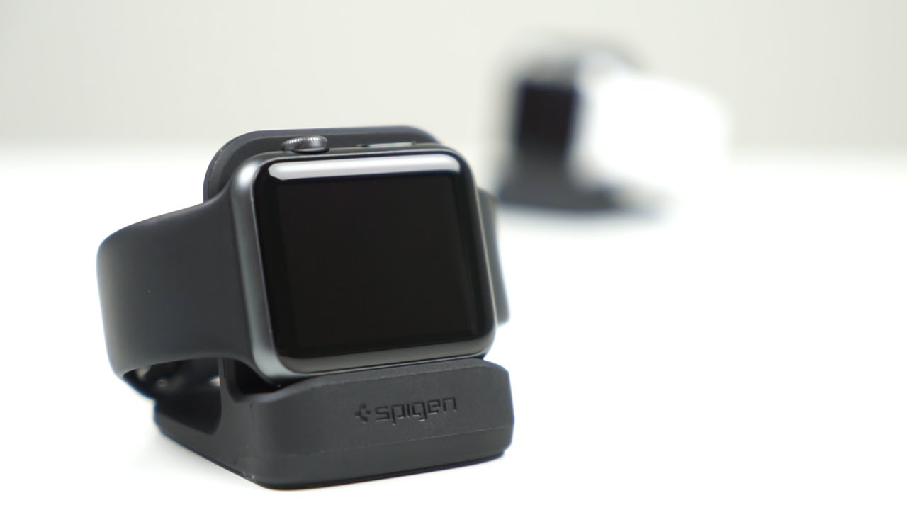 los angeles c4db7 9f220 Spigen S350 Apple Watch Stand for Apple's Nightstand Mode