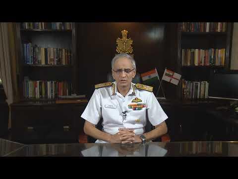 Navy Chief Admiral Karambir Singh Message (Hindi) I 2019