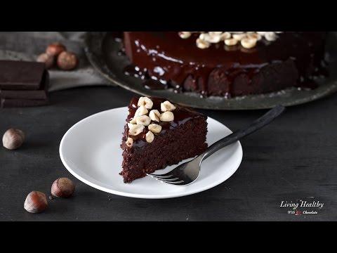 Hazelnut and Chocolate Cake (Paleo, Gluten-free, Dairy-free)