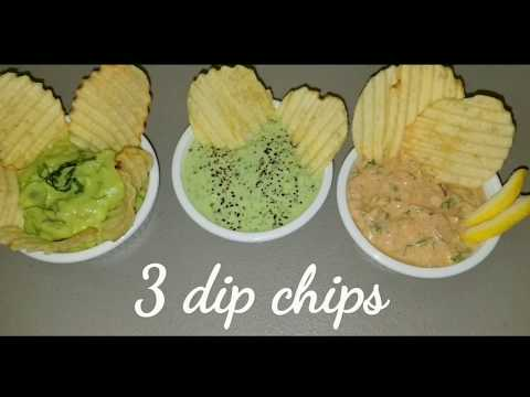 3 Easy Dip Chips Recipes