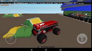 FLUFFY FREESTYLE ROBLOX MONSTER JAM
