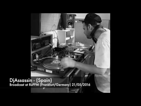 DjAssassin (Spain) at RuFFM Radio X 91.8Fm (Frankfurt/Germany) 21.05.2016
