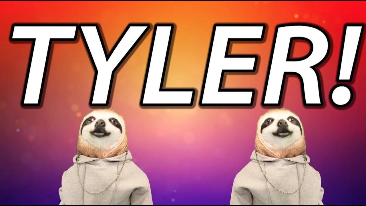 Happy Birthday Tyler Sloth Happy Birthday Rap Youtube