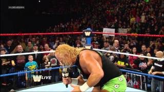 The New Age Outlaws vs. Primo & Epico: Raw, March 4, 2013