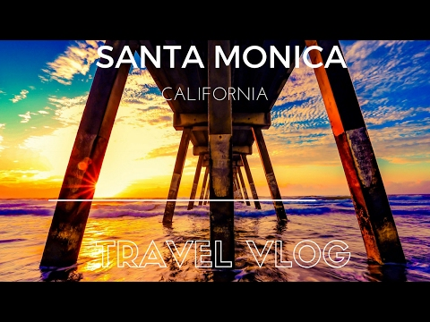 Santa Monica, California: Day Into Date Night Travel Vlog