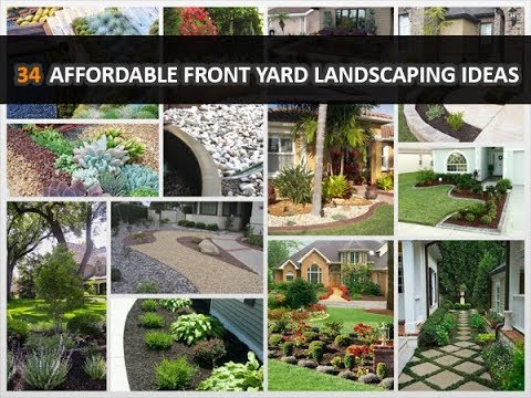 34 simple affordable front yard landscaping ideas - Simple front yard landscaping ideas on a budget ...