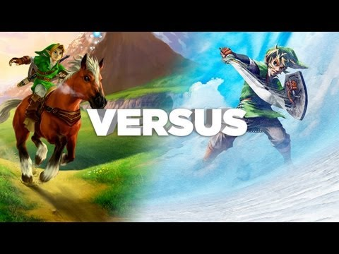 Zelda: Ocarina Of Time Vs Skyward Sword - You Decide! IGN Versus