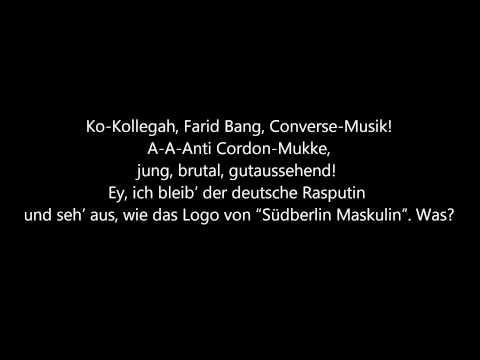 Kollegah & Farid Bang - Halleluja (Lyrics) [HQ]