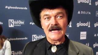 Randy Jones the original cowboy from the Village People at The GLAAD Media Awards New York City 2016