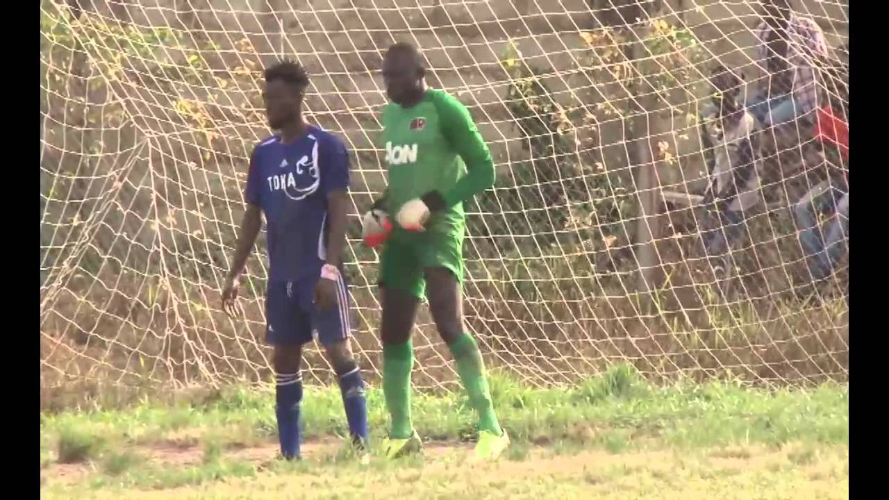 Richard attikah's goal earn Elmina Shark Victory