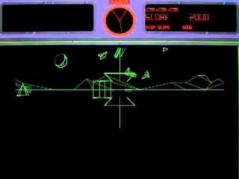 Battle Zone Rev 2 Mame Gameplay Video Snapshot -Rom Name Bzone- - YT