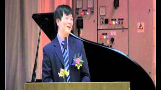 Publication Date: 2011-09-21 | Video Title: 中學畢業典禮致訓詞 - Dr. King King(黃敬博士