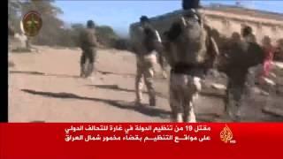 مقتل 19 من تنظيم الدولة بغارة للتحالف شمال العراق