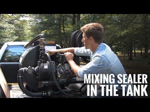 Save Time & Mix It Right! Asphalt Sealcoat Sprayer Agitation