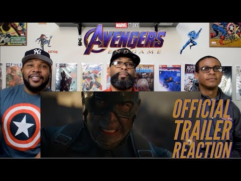 Marvel Studios' Avengers : Endgame Official Trailer Reaction