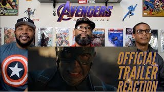 Marvel Studios' Avengers : Endgame Official Trailer Reaction