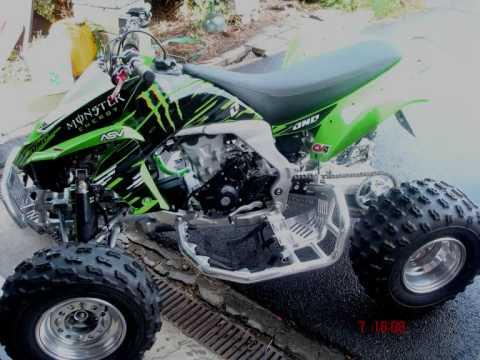 Kawasaki Kfx 400 >> 2009 Street Legal Kawasaki KFX450R *Update Vid 1* - YouTube