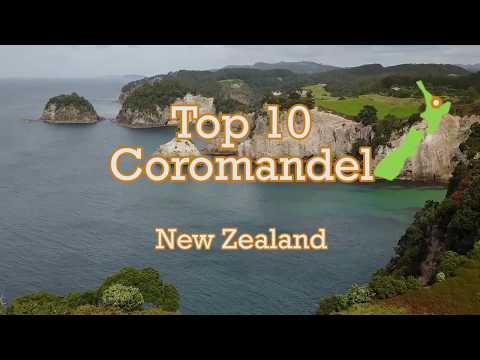 TOP 10 places to visit Coromandel