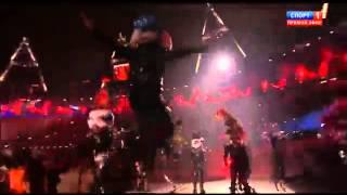 Открытие летних олимпийских игр в Лондоне Танец панков пого под Sex Pistols