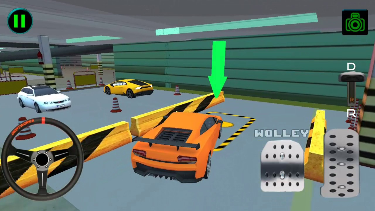 Amazing Multi 3D Car Parking - Android Gameplay HD - Sports Cars ...
