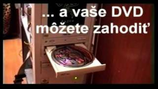 Test DVD mechaniky