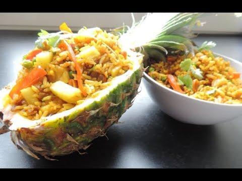 The Best Vegan Pineapple Fried Rice