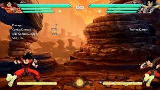 DRAGON BALL FighterZ Base Goku optimized Kaioken Ender