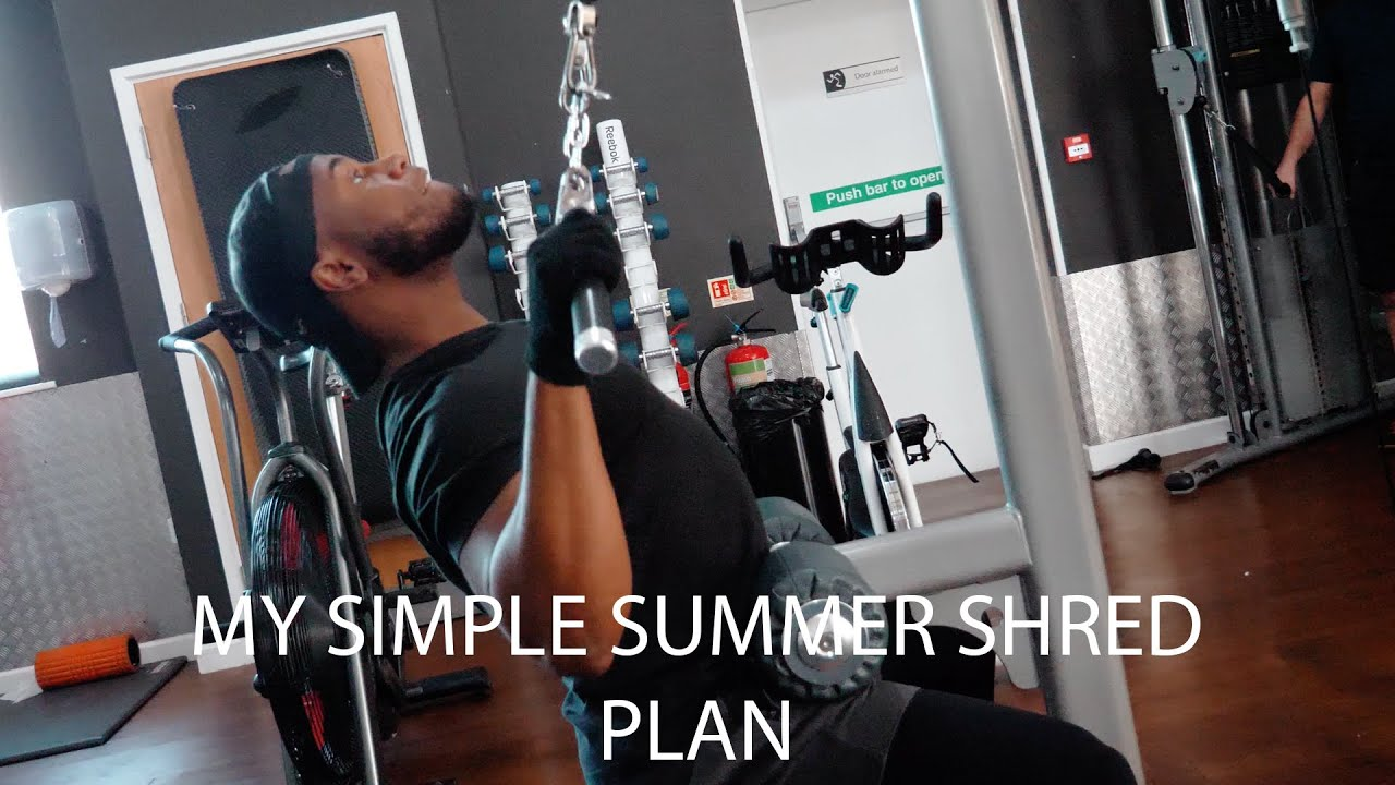 My simple summer body shred plan