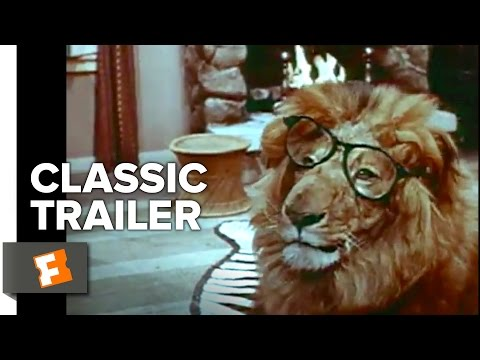 Random Movie Pick - Clarence, the Cross-Eyed Lion (1965) Official Trailer - Marshall Thompson Animal Movie HD YouTube Trailer