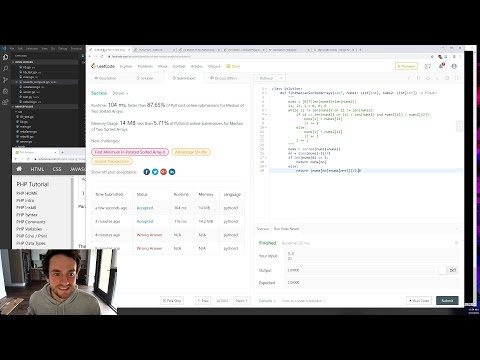 George Hotz | Programming | Adding Hashing Support To Minikeyvalue And Some LeetCode