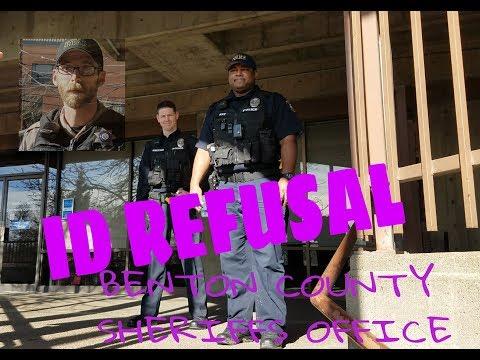 ID REFUSAL) Benton County Sheriffs and Corvallis Police