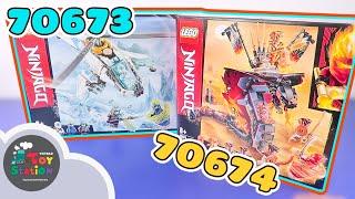 LEGO Ninjago 70673 Shuricopter và 70674 Rắn Lửa Khổng Lồ ToyStation 422