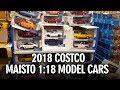 COSTCO 1:18 Diecast Model Cars 2018