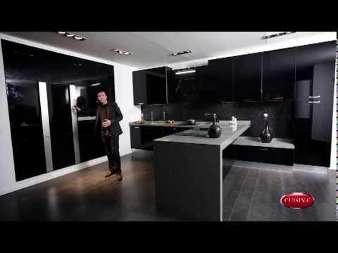 la nouvelle gamme acrylique de cuisina - youtube