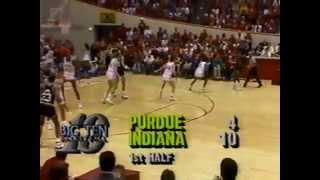 IU vs Purdue 1988
