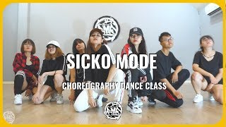 SICKO MODE - Travis Scott | Amy choreography | Urban Dance Class ( beginner )