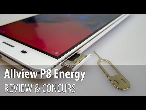 Allview P8 Energy Review + Concurs (Telefonul Powerbank cu b
