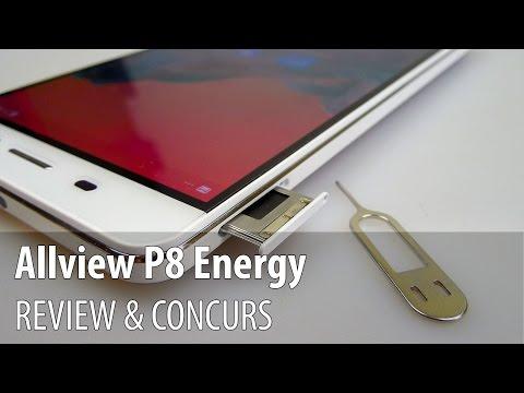 Allview P8 Energy Review + Concurs (Telefonul Powerbank cu baterie de 6.000 mAh) - Mobilissimo.ro