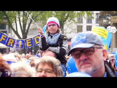 Pulse of Europe Köln - Filmbericht von Karrideo Image- und Eventfilmproduktion